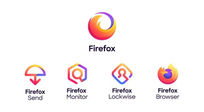 Nowe logotypy marki Firefox