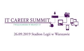 Logo wydarzenia IT Career Summit 2019