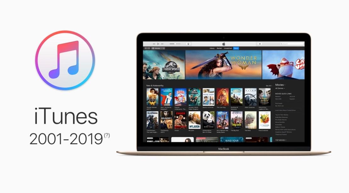 iTunes (2001-2019{?})