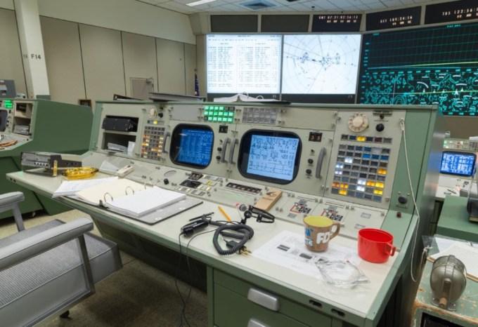 Replika centrum misji kosmicznej Apollo 11
