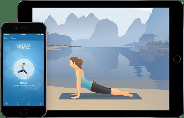 """Appka """"Pocket Yoga"""""""