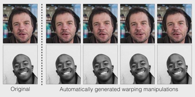 Oryginalny portret vs falsyfikat (modyfikowany komputerowo)