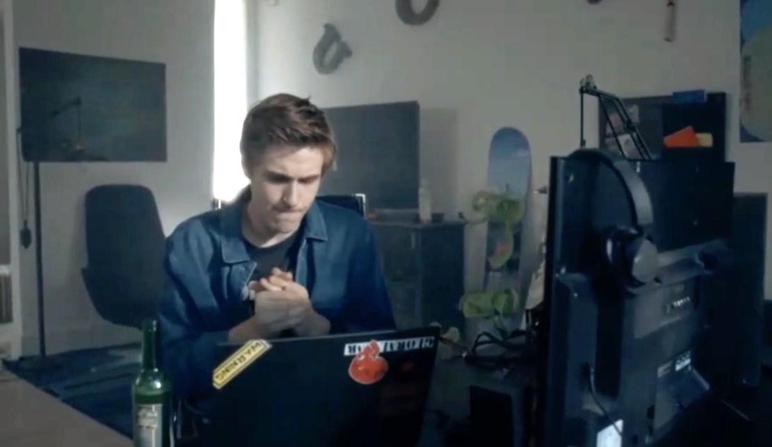 "Hacker Tymon Karski z serialu ""Belfer 2"""