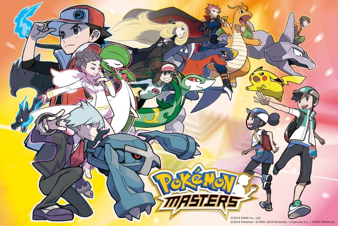 Gra mobilna Pokémon Masters