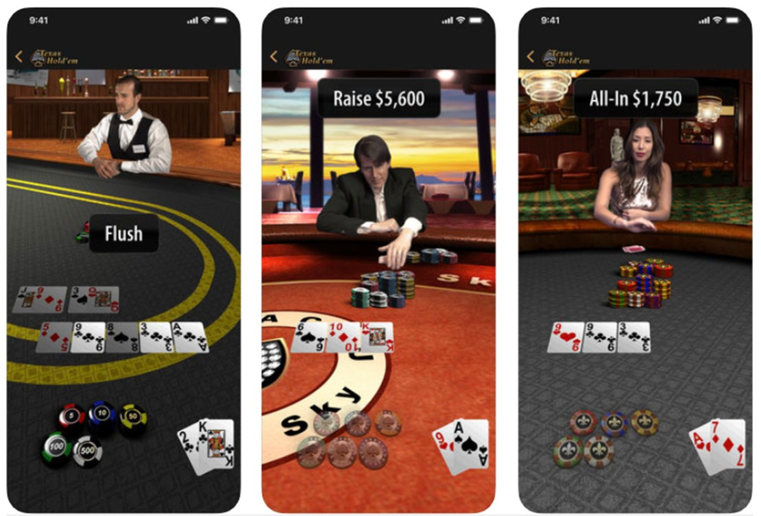 Texas Hold'em The App Store classic is back!