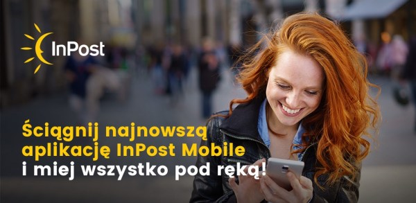 Kilka sekund na odbiór paczki z aplikacją InPost Mobile