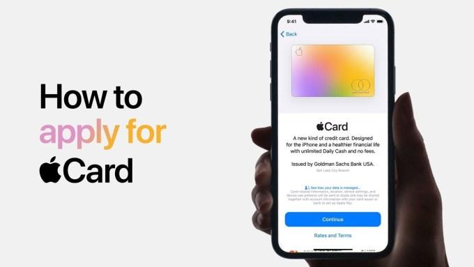 Filmy instruktażowe Apple Card