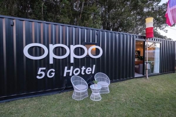 OPPO prezentuje pierwszy na świecie hotel 5G!