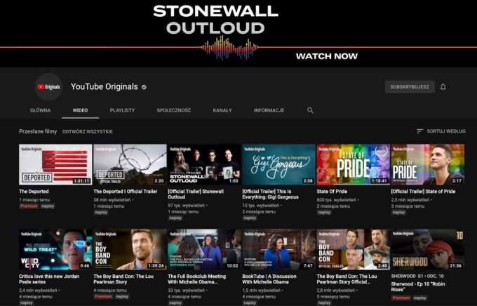 Screen z serwisu YouTube Originals