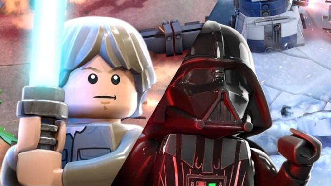 Postacie z gry mobilnej LEGO Star Wars Battles