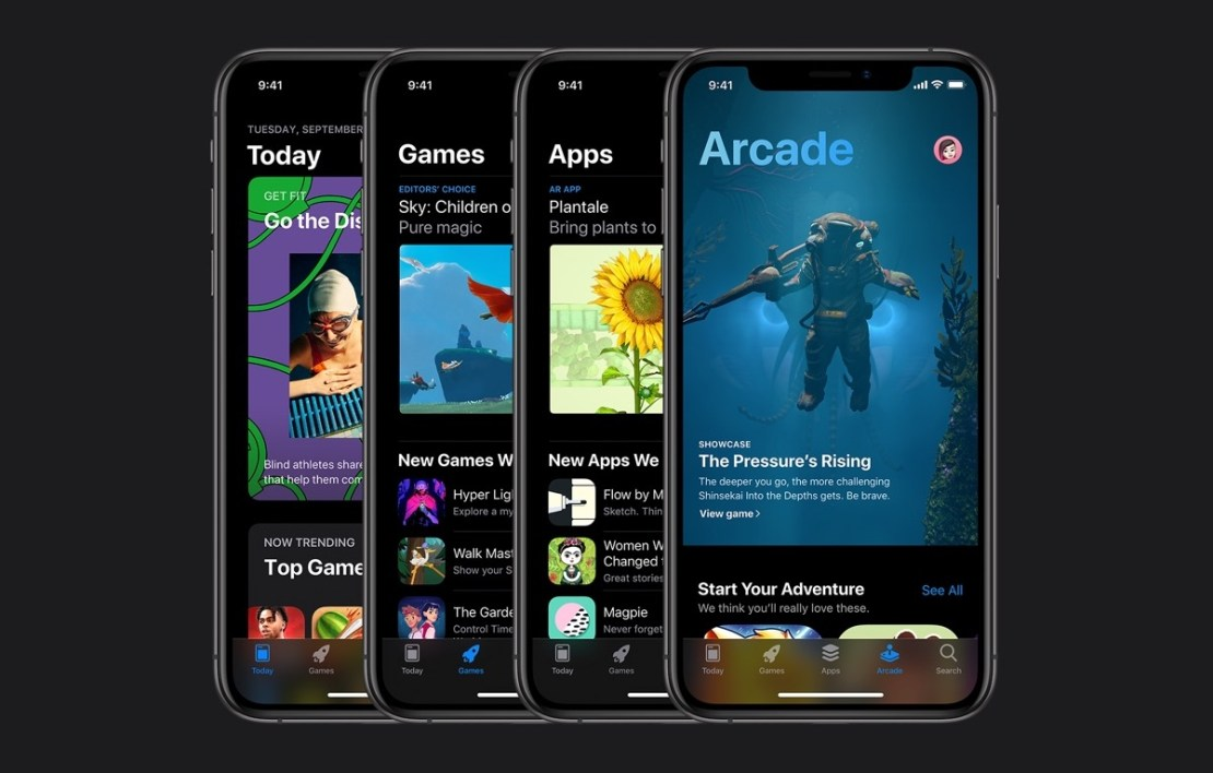 Sklep App Store pod systemem iOS 13