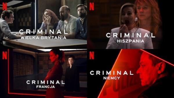 """Nowy serial kryminalny """"Criminal"""" już 20 wrzenia na Netflixie"""