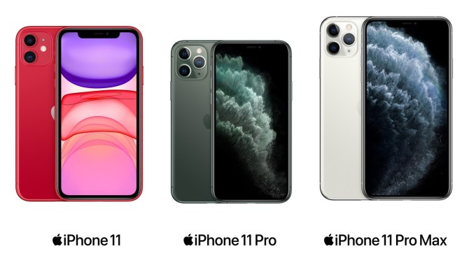 iPhone 11, iPhone 11 Pro i iPhone 11 Pro Max