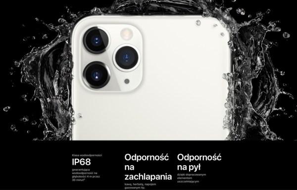Tak, można umyć iPhone'a mydłem i wodą