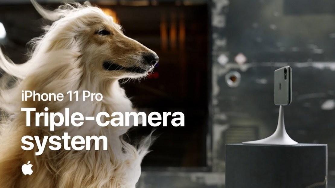 Kadr z reklamy Triple-camera system iPhone'a 11 Pro