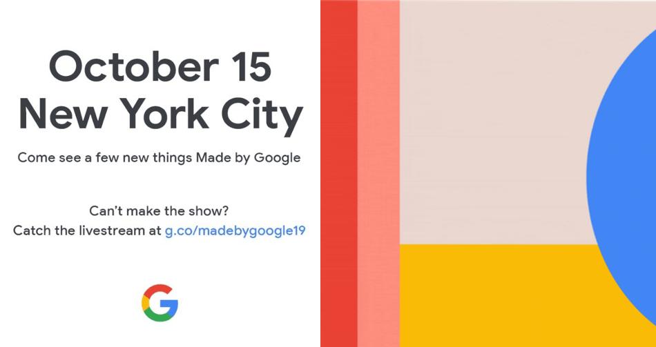 Konferencja Made by Google 2019 (15 października 2019)