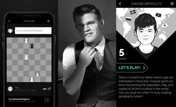 Zagraj w szachy na smartfonie z Magnusem Carlsenem