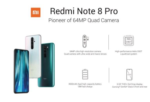 Redmi Note 8 Pro: Xiaomi prezentuje nowego króla średniej półki w swoim portfolio