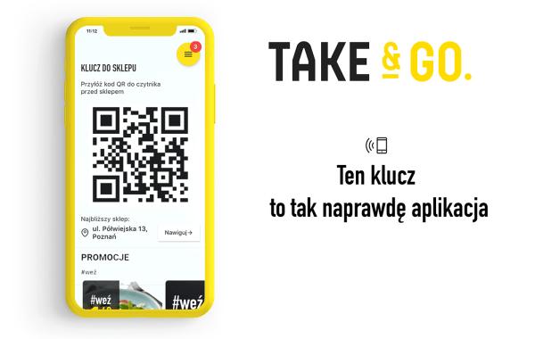 Sklep bezkasowy Take&GO otwarty już dla wszystkich