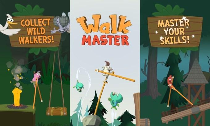 Gra mobilna Walk Master