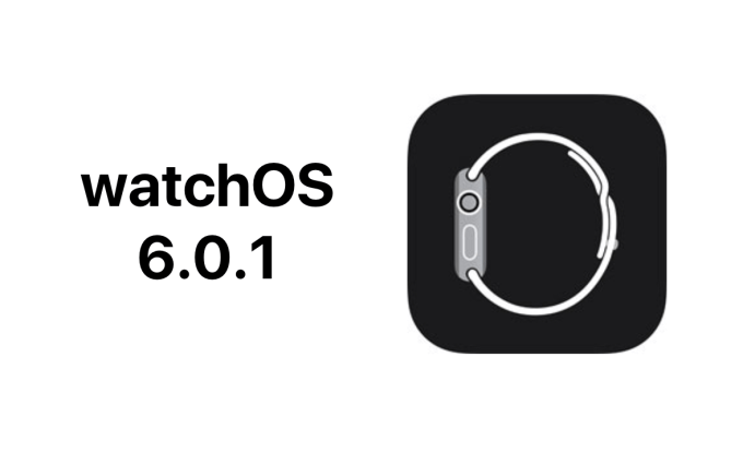 Uaktualnienie watchOS 6.0.1