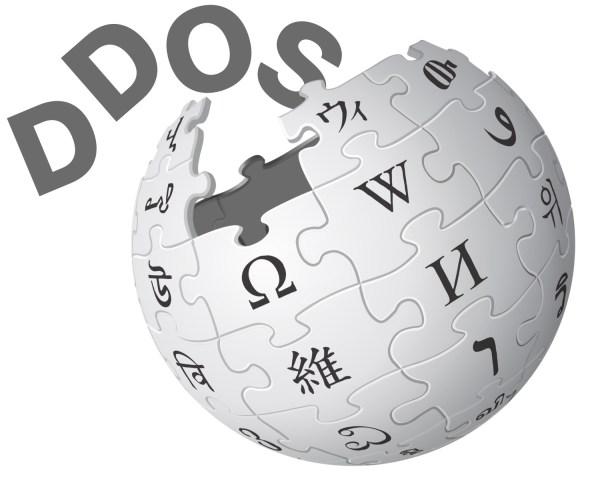 Wikipedia ofiarą dużego ataku DDOS w Europie i na Bliskim Wschodzie