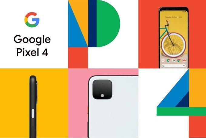 Pixel 4 i 4 XL (grafika promocyjna)