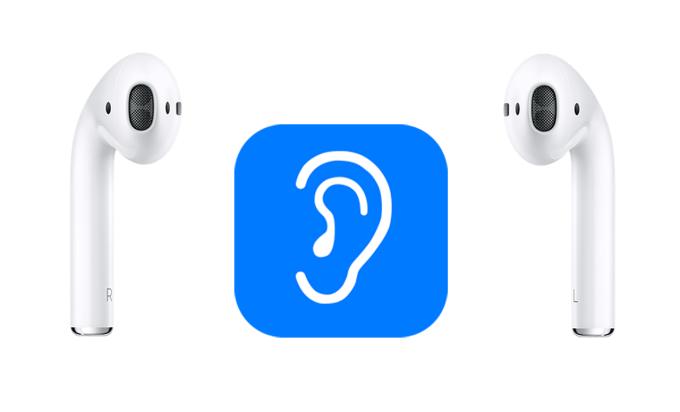 Słuchawki AirPods jako aparat słuchowy