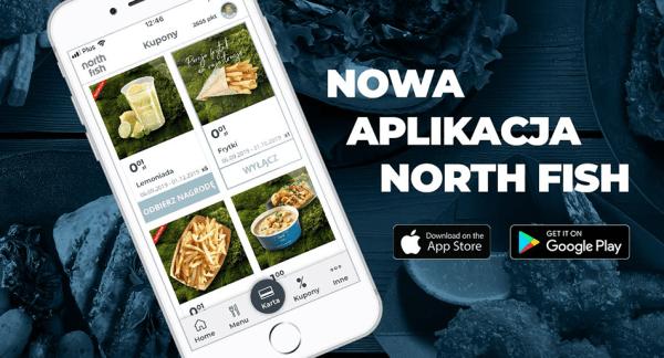 Sieć restauracji North Fish z nową aplikacją mobilną