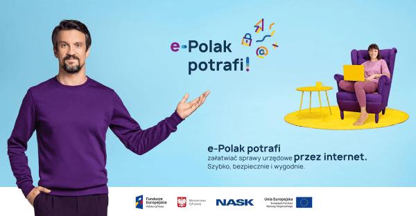 Rusza kampania edukacyjna e-Polak potrafi!