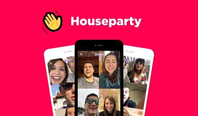 """Aplikacja społecznościowa """"Houseparty"""""""
