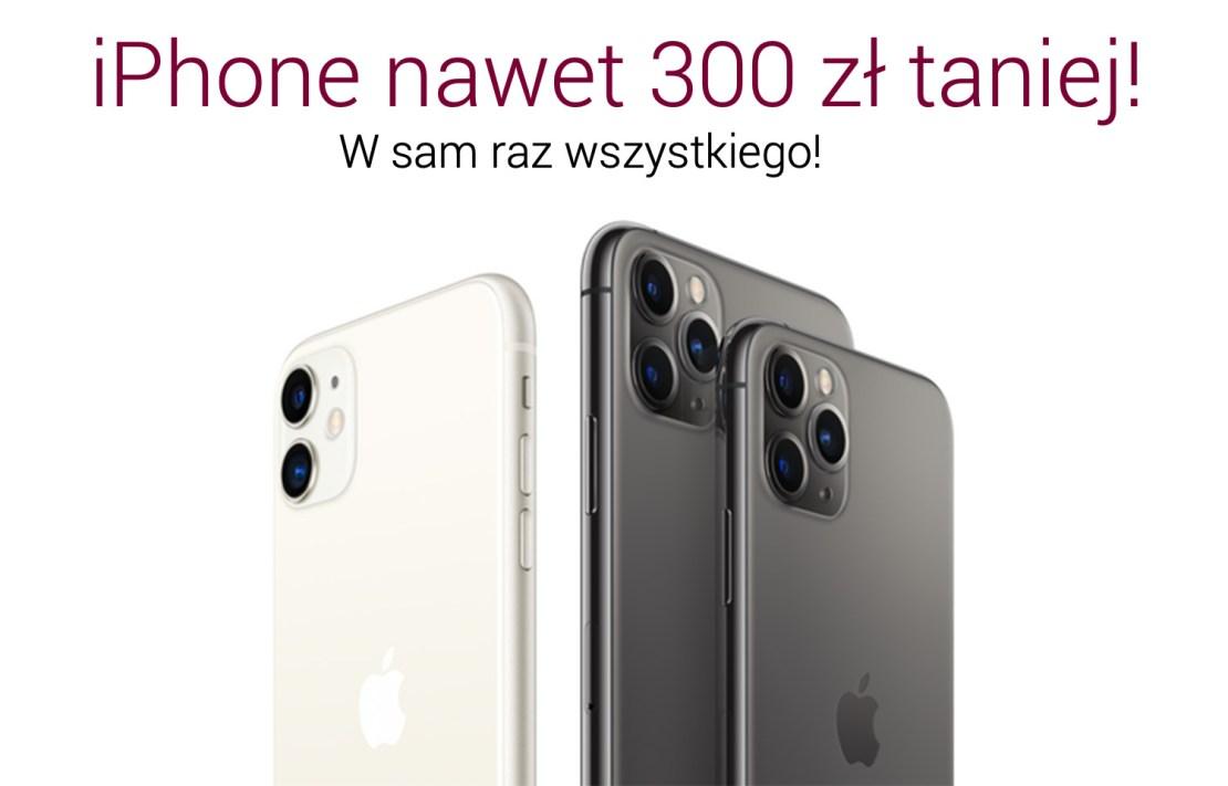 iPhone'y w promocji nawet 300 zł taniej dla klientów Alior Banku