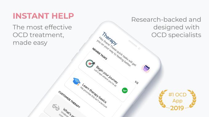 NOCD - aplikacja wspomagająca leczenie OCD