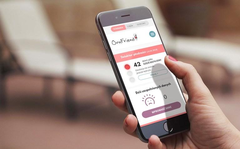 Aplikacja mobilna Ovufriend