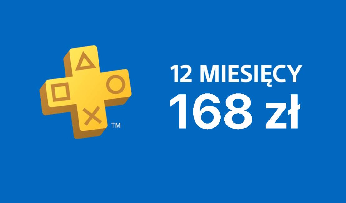 12 mies. PayStation Plus za 168 zł