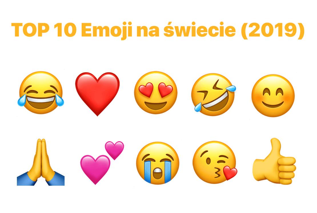 TOP 10 Emoji na świecie (październik 2019)