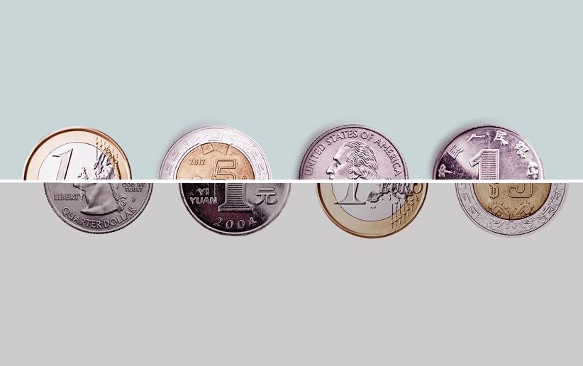 Połówki monet