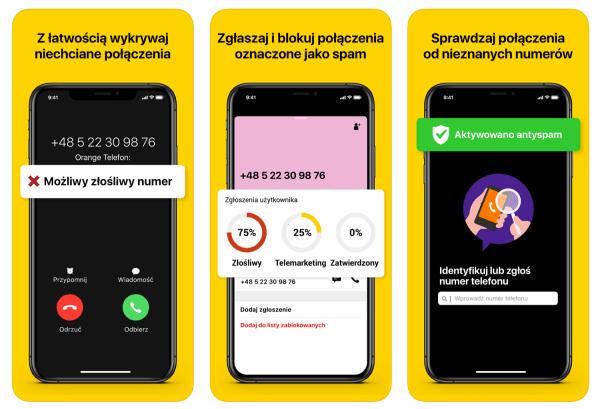 "Aplikacja mobilna ""Orange Telefon"" pomaga chronić smartfony"