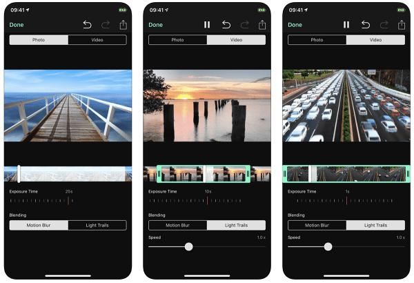 Blendeo doda efekt długiego czasu naświetlania do zdjęć i filmów