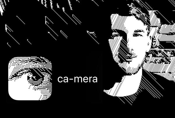 """""""ca-mera"""" to apka z efektami aparatu w stylu bardzo retro"""