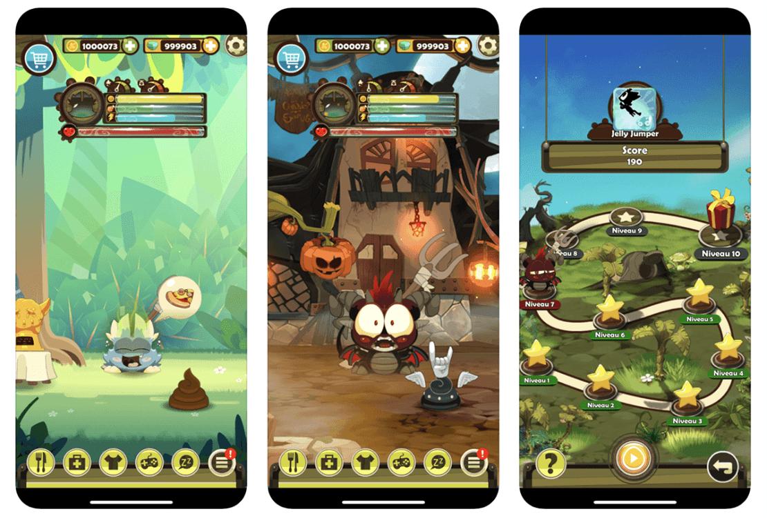 Zrzuty ekranu z gry DOFUS Pets