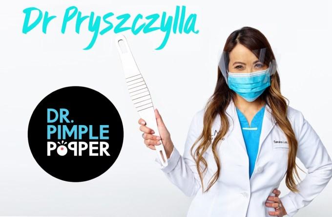 """Oficjalna aplikacja mobilna """"Dr. Pimple Popper"""" (Dr Pryszczylla)"""