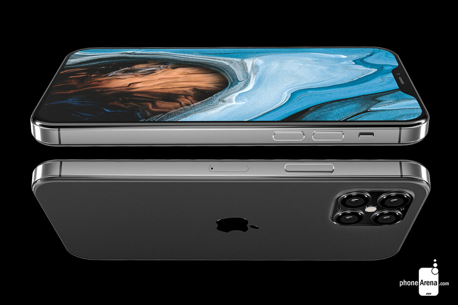 Koncept iPhone 12 (PhoneArena)