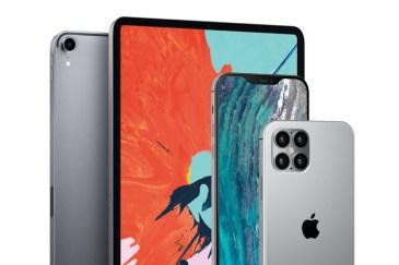 Koncept iPhone 12 w stylu iPada Pro z 2019 r. (PhoneArena)