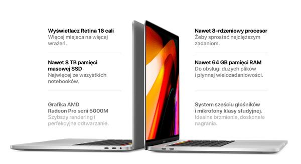Oto nowy i najpotężniejszy 16-calowy Macbook Pro z 2019 roku!