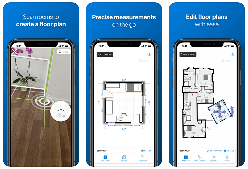 Aplikacja mobilna magicplan – 2D/3D floor plans