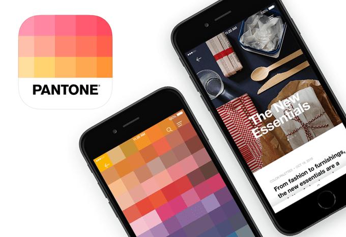 Aplikacja mobilna PANTONE Studio