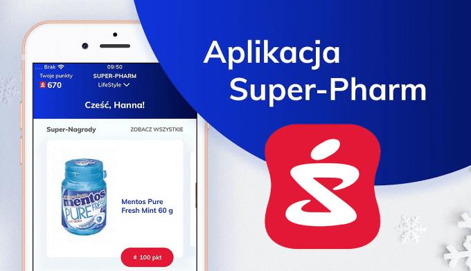 Aplikacja mobilna Super-Pharm Polska