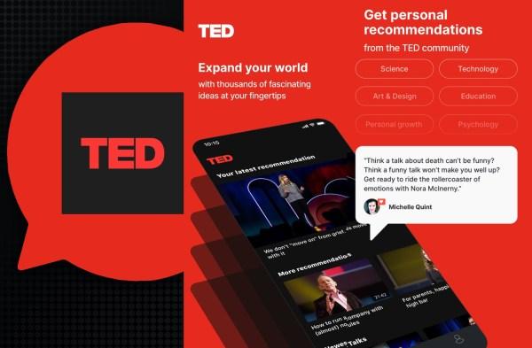 Oglądaj idee warte propagowania od TED na smartfonie!