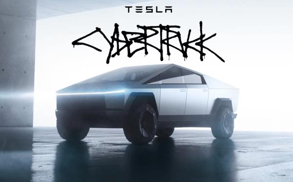 Oto futurystyczno-kubistyczny Tesla Cybertruck!
